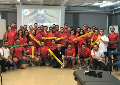 Kinetic Flossing Course Athens-Greece, September 2018